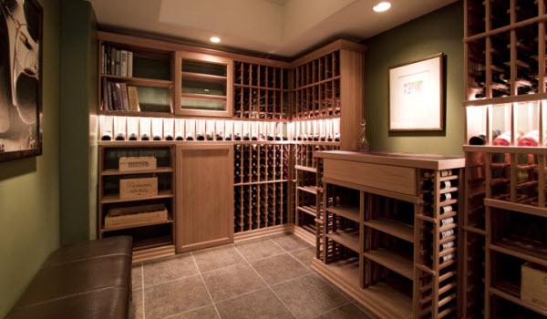 Basement finishing media rooms wet bars wine rooms - Bathroom remodeling woodbridge va ...