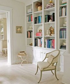 Built-in bookcases, built in bookshelves